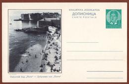 YUGOSLAVIA-CROATIA, DUBROVNIK, 4th EDITION ILLUSTRATED POSTAL CARD - Enteros Postales
