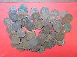 NAPOLEON III 77 MONNAIES DE 10 CENTIMES ENTRE 1852 Et 1865 (VOIR LISTE ) - Monedas & Billetes