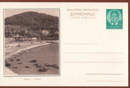 YUGOSLAVIA-CROATIA, LAPAD Near DUBROVNIK, 4th EDITION ILLUSTRATED POSTAL CARD - Enteros Postales