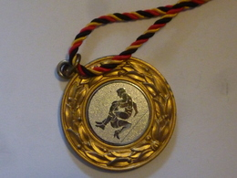 "Medaglia Sportiva ""Wanderpokalfurnier Nattheim 1992"" - Firma's"