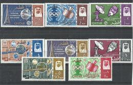 QATAR  YVERT  61/68    MNH  ** - Qatar