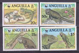 ANGUILLA, N°903 à 906, 1997, Cote 10€, Iguane ( W1903/002) - Anguilla (1968-...)