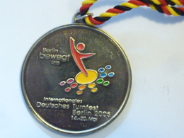 """Medaglia Sportiva """"DEUTSCHE TURNFEST BERLIN 2005"""" - Professionali/Di Società"""