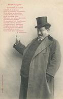 Pour Maigrir Regime Obèse Commandements Beurre , Velo, Vin Etc Edt. Bergeret  Pub Cordonnerie Coq Or Bourges - Humour