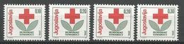 Yugoslavia,Red Cross 1990.,without Macedonian Issue,MNH - Neufs