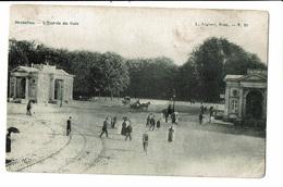CPA - Carte Postale - Belgique - Bruxelles -  Entrée Du Bois De La Cambre1919-VM1359 - Forêts, Parcs, Jardins