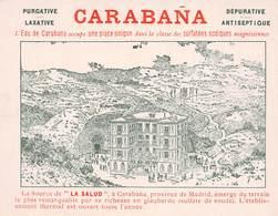 Espagne - CARABANA - Eau De Carabana - Source De La Salud - Province De Madrid - Etiquette / Carte - Madrid