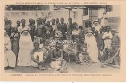 DAHOMEY  ZOUNON  Roi De Porto-Novo Visite Mere Superieure  Ben9 - Benin