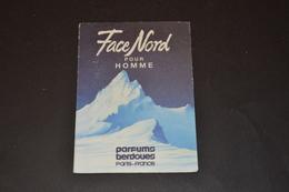 Mini Calendrier 1983 Parfum BERDOUES Parfum Face Nord Pour Hommes - Calendriers