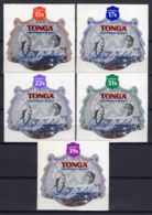 TONGA ( AERIEN ) Y&T N°  204/208  TIMBRES  NEUFS  SANS  TRACE  DE  CHARNIERE . - Tonga (1970-...)