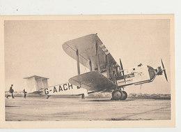 IMPERIAL AIRWAYS AVION ARGOSY 19 PASSAGES CPA BON ETAT - 1919-1938: Entre Guerres