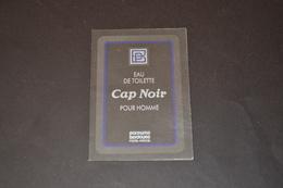 Mini Calendrier 1991 Parfum Berdoues Cap Noir Pour Homme - Calendriers