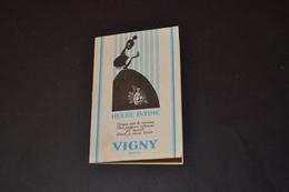 Mini Calendrier 1969 Parfum Heure Intime VIGNY Paris - Calendriers