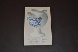 Mini Calendrier 1978 Chicorée Entre LEROUX Vase De Pharmacie - Calendriers