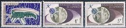 Camerun 1963 / 68  -  Yvert 361 + 363 + 456  ( ** ) - Camerún (1960-...)