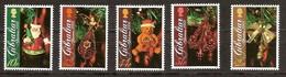 Gibraltar 2009 Yvertn° 1354-1358 *** MNH Cote 14,00 Euro Noel Kerstmis Christmas - Gibraltar