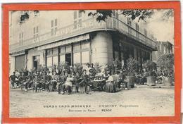 """Lozere : Mende,""""Grand Café Moderne"""", Dumont Propriétaire, Rare, Top Carte... - Mende"""