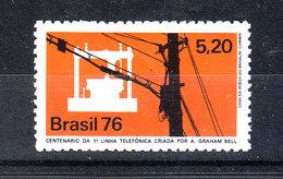 Brasile   -   1976.Collegamenti  Telegrafici. Telegraphic Connections. MNH - Telecom