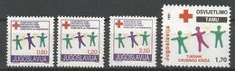 Yugoslavia,Red Cross 1991.,without Macedonian Issue,MNH - Neufs