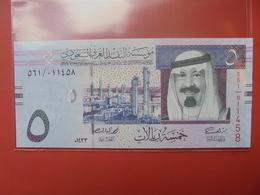 ARABIE SAOUDITE 5 RIYALS UNC - Arabie Saoudite