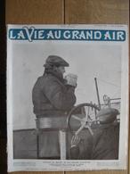 1910 ACCIDENT DE DELAGRANGE/LATHAM RECORD D'ALTITUDE-LUTTE-RUGBY : FRANCE-PAYS DE GALLE/MEETING DE NICE - Livres, BD, Revues