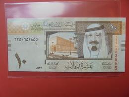 ARABIE SAOUDITE 10 RIYALS UNC - Arabie Saoudite