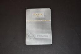 Mini Calendrier 1978 Métallique SOLFIN Médaille D'argent PARIS - Calendriers