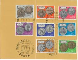 SAN MARINO 1972 - MONETE DELLA REPUBBLICA - SERIE COMPLETA - USATI - Usados