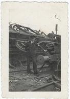69  GrignyTriage De Badan Photographie Originale Bombardement Du 25 Mai 1944 - Trains