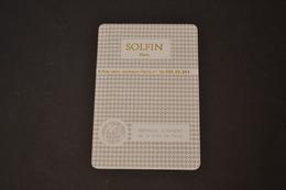 Mini Calendrier 1979 Métallique SOLFIN Médaille D'argent De La Ville De PARIS - Calendriers