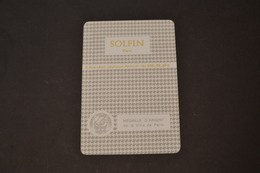 Mini Calendrier 1980/81 Métallique SOLFIN Médaille D'argent De La Ville De PARIS - Calendriers