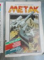 1991 SERBIA BULLET WEAPON NEWSPAPERS MAGAZINE Military FIRE ARMS RUGER SP01 STRIKER SHOTGUN  GUN BERNADELLI P08 FIRESTAR - Revistas & Periódicos