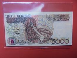 INDONESIE 5000 RUPIAH 1992 UNC - Indonésie