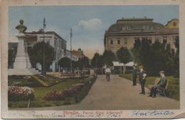 CPA ROUMANIE BRAILA Parcul Sfinti Arhangeli 1921 - Rumänien