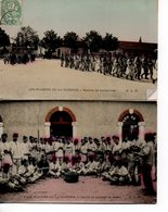 Militaria : Les Plaisirs De La Caserne (lot De 2 Cpa) - Casernes
