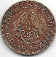 South Africa 1/2 Cent 1962 Km 56 - Afrique Du Sud