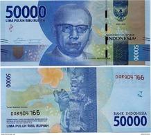 INDONESIA       50,000 Rupiah      P-159a       2016/2016   UNC  [ 50000 ] - Indonesia