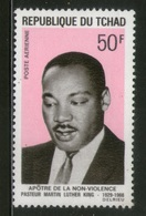 Chad 1969 Noble Prize Winner Martin Luther King Sc C54 MNH # 1066 - Martin Luther King