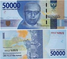 INDONESIA       50,000 Rupiah      P-159b       2016/2017   UNC  [ 50000 ] - Indonesia