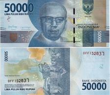 INDONESIA       50,000 Rupiah      P-159c       2016/2018   UNC  [ 50000 ] - Indonesia