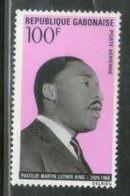 Gabon 1969 Martin Luther King Noble Prize Winner MNH Sc C81 # 547 - Martin Luther King
