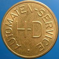KB191-1 - HD AUTOMATEN SERVICE Van Houdt - Dordrecht - B 20.0mm - Koffie Machine Penning - Coffee Machine Token - Professionnels/De Société