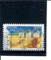 Yt 53 Vacance 2005-cabines De Plage-cachet Rond - France