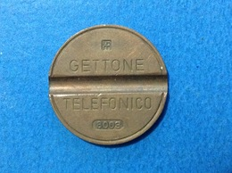 1980 ITALIA TOKEN GETTONE TELEFONICO SIP USATO 8003 - Italia