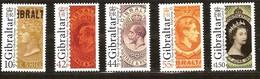 Gibraltar 2011 Yvertn° 1425-1429 *** MNH Cote 11,00 Euro - Gibraltar