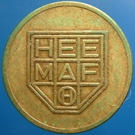 KB193-1 - HEEMAF  - Hengelo Ov. - B 20.0mm - Koffie Machine Penning - Coffee Machine Token - Professionnels/De Société