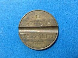1980 ITALIA TOKEN GETTONE TELEFONICO SIP USATO 8001 - Italia