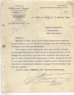 Facture 1919 / 88 GOLBEY /  EPINAL / Etab SINGRUN / Turbines - 1900 – 1949
