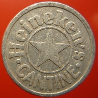 KB194-3 - HEINEKEN CANTINE - Amsterdam - A 22.0mm - (Koffie) Kantine Penning - (Coffee) Machine Token - Professionnels/De Société