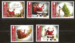 Gibraltar 2012 Yvertn° 1508-1512 *** MNH Cote 12,20 Euro Noël Kerstmis Christmas - Gibraltar